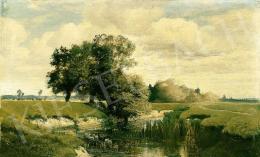Mészöly Géza - Patakpart (1875 körül)