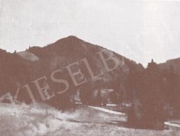 Bánovszky Miklós - Hegyvidéki táj, 1959