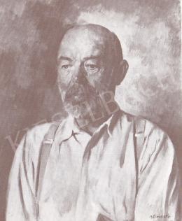 Bánovszky Miklós - Tornyai János arcképe, 1960 k.