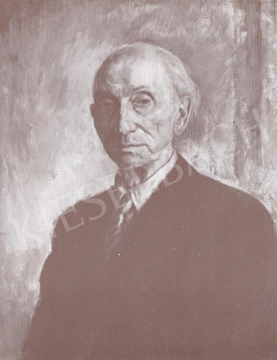 Bánovszky Miklós - Perlott Csaba Vilmos arképe, 1947 festménye