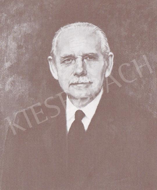 Bánovszky Miklós - Mailáth Imre arcképe, 1977 festménye
