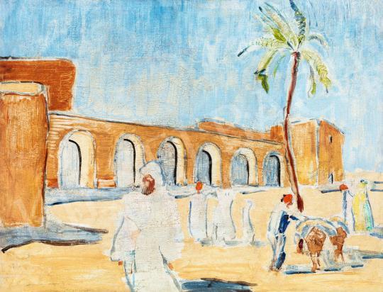 Móricz, Margit, - Orient, 1930's painting