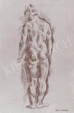 Bánovszky Miklós - Női hátakt, 1923