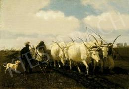 Lotz Károly - Tavaszi szántás