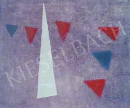 Lossonczy Tamás - Felhőkarcoló háromszög, 1969