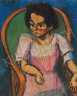 Tihanyi Lajos - Gyerekportré ( Miska portréja )