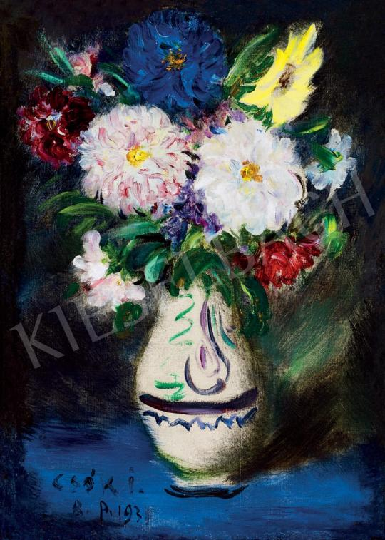 For sale  Csók, István - Flower Still Life, 1933 's painting