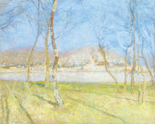 For sale  Matija, Jama - By the River in Spring 's painting