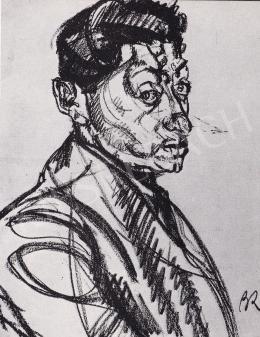 Berény, Róbert - Self-Portrait, 1910's