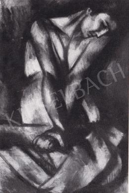 Uitz, Béla - Washwoman, 1915