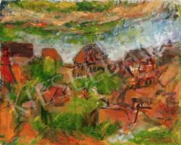 Czóbel Béla - Szentendrei házak