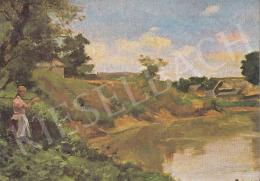 Bihari Sándor - Zagyva-part, 1900 k.