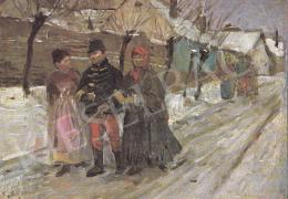 Bihari Sándor - Vasárnap délután, 1900 k.