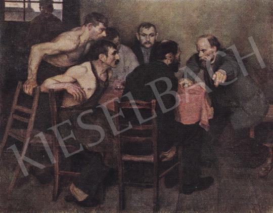 Kernstok, Károly - Agitator, 1897 painting