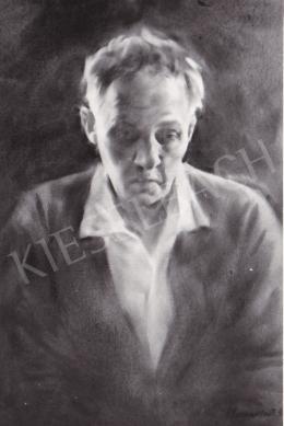 Horváth József - Önarckép, 1952