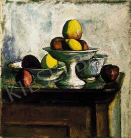 Czigány Dezső - Csendélet almákkal (1915 körül)