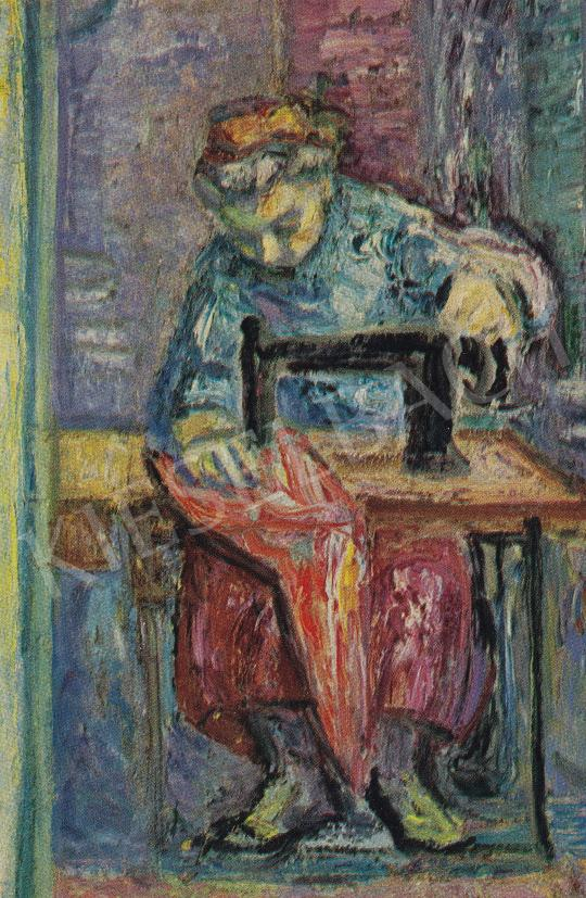Vén, Emil - Sewing Table, 1959 painting