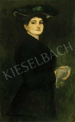Kernstok, Károly - Female Portrait