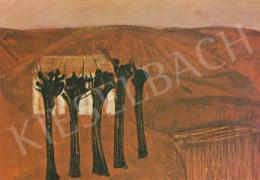 Orosz János - Öt fa, 1962