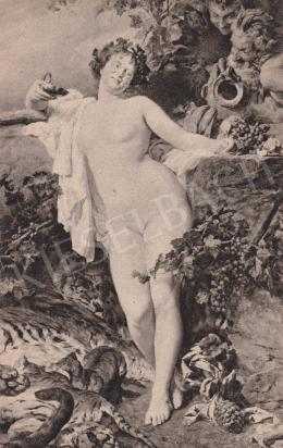 Benczúr, Gyula - Bacchans Woman
