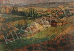 Kővári, Szilárd - A View of the Calvary, 1910-1914
