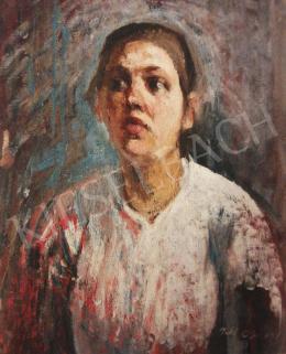 Feld Lajos - Női portré, 1932