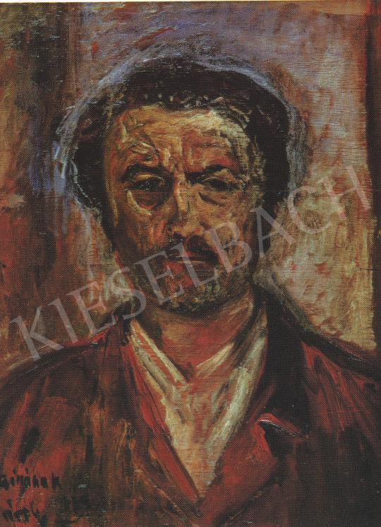Kernstok, Károly - Self-Portrait, 1927 painting