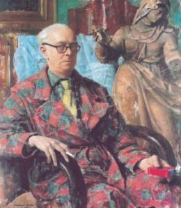 Kontuly Béla - Önarckép, 1961