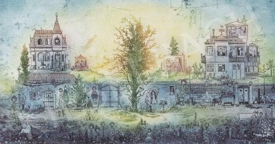 Gross Arnold - Kertvárosi Álom I. festménye