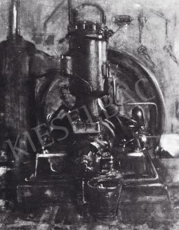 Ruzicskay György - Diesel-motor arcképe