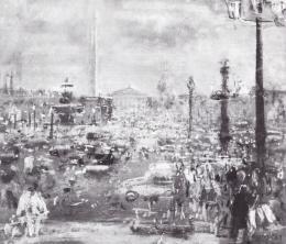 Ruzicskay György - Párizsi tér