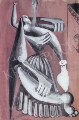 Hincz Gyula - Római jegyzet, 1930 körül