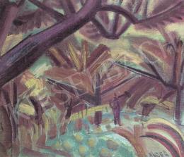 Hincz Gyula - Békásmegyeri táj, 1946 körül