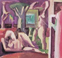 Hincz, Gyula - Nudes in Landscape, 1940s