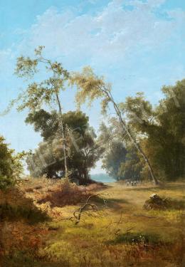 Telepy, Károly - Káposztásmegyeri sziget, 1894Island at Káposztásmegyer, 1894