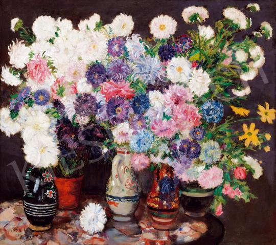 Eladó  Csók István - Virágcsendélet, 1917 festménye