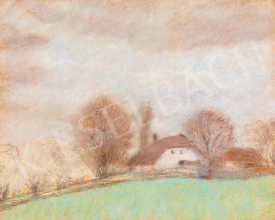 Eladó Rippl-Rónai József - Tavaszi eső után festménye