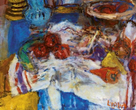 Eladó  Czóbel Béla - Csendélet zöldségekkel festménye