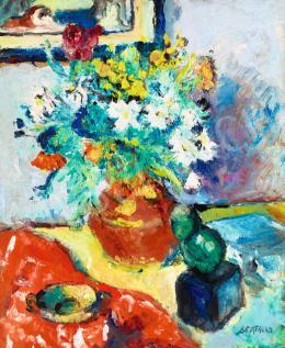 Bertalan Albert - Párizsi műtermi csendélet