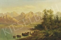 Pick, Anton - Alpine Landscape with Tarn