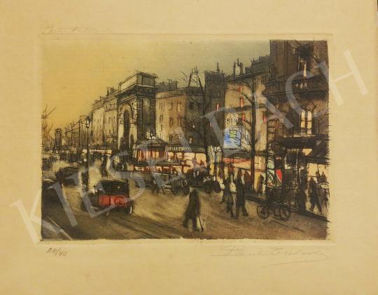 Eladó  Ismeretlen művész Paul Gulandy jelzéssel - Pont-Saint-Martin festménye