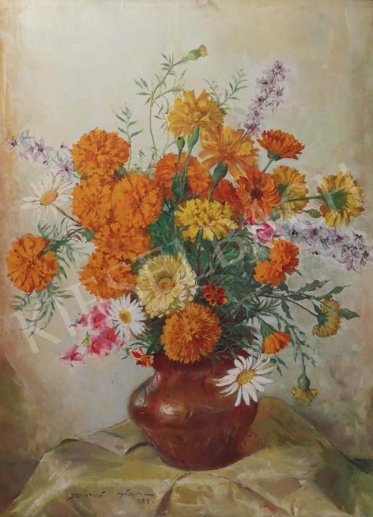 Eladó Szánthó Mária - Mezei virágcsendélet, 1923 festménye