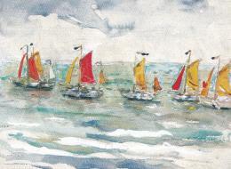 Perlmutter Izsák - Hajók