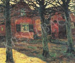 Perlmutter Izsák - Utcarészlet Hollandiában