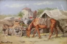 Pállya, Carolus - Horse Chariot