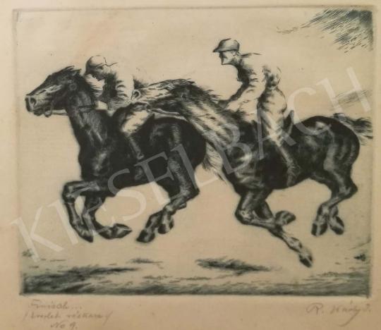 Eladó Réfy-Kádi János - Megérkezés a célba festménye