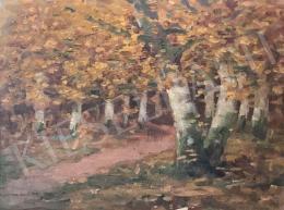 Edvi Illés Aladár - Őszi erdőrészlet