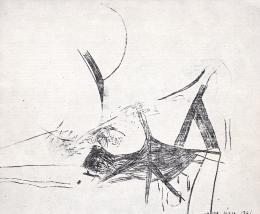 Vajda Júlia - Feszülő formák, 1961