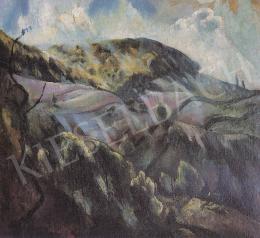 Szőnyi, István - Landscape in sunlight, 1923