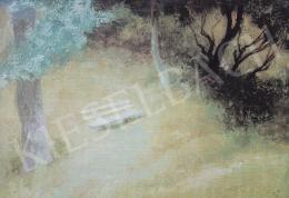 Szőnyi, István - Garden Bench, 1943